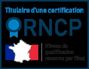 Titulaire d'une certification RNCP